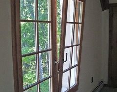 New tilt & turn windows at a house in Green Bay, Wisconsin