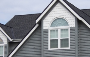 Premium new windows at a house in Milwaukee, Wisconsin