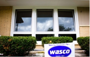 New European windows installed at a house in Howard, Wisconsin